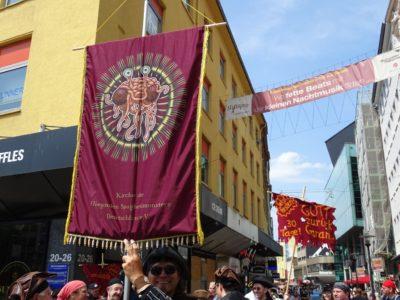 Das Banner des FSM (© Daniela Wakonigg)